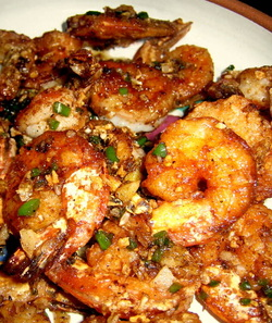 Salt and Pepper Shrimp or Chicken Recipe - feeding my ohana